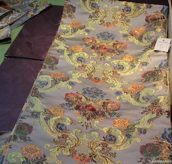 yarn-dyed jacquard fabric
