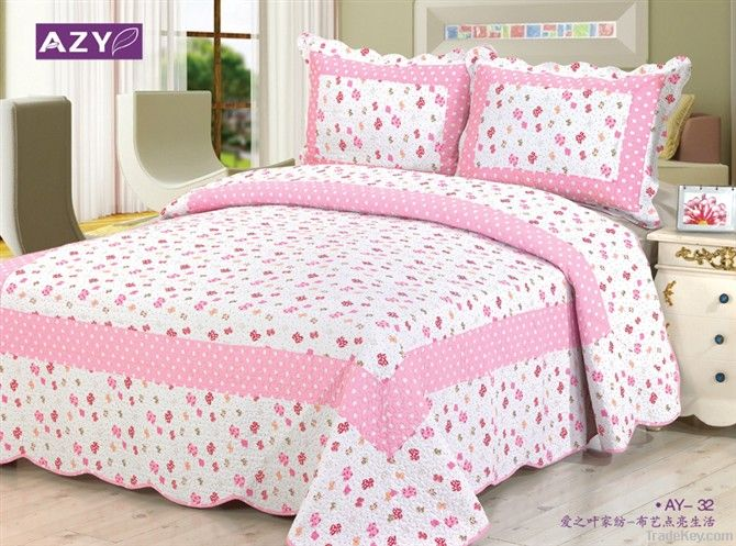 100% cotton China style patchwork quilt