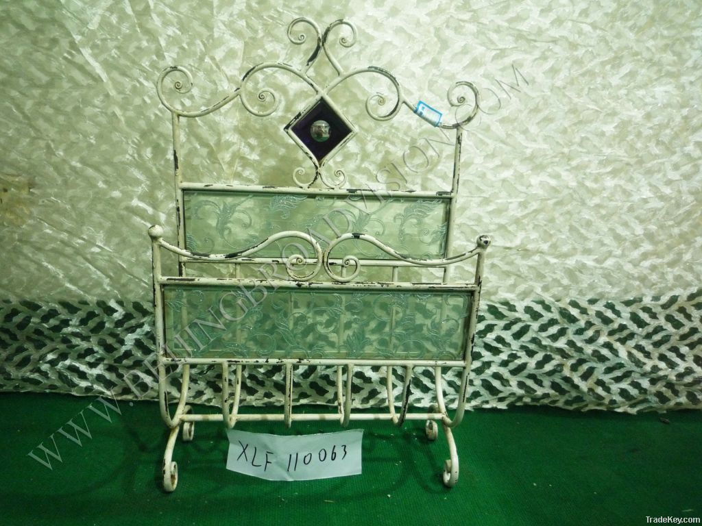 coffee tables, end tables, bookshelves, lamps, umbrella stands, mirror