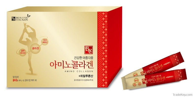 Amino Collagen Powder healthy skin for women
