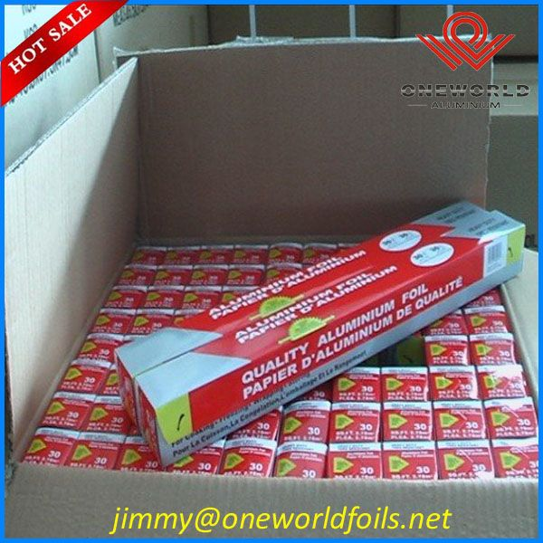 Aluminu foil for food packing
