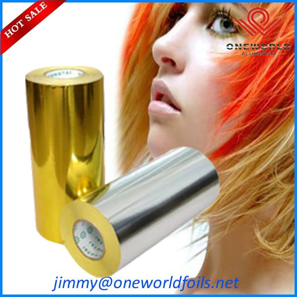 color hairdressing foil
