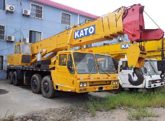 Used Kato 50t Truck Crane secondhand