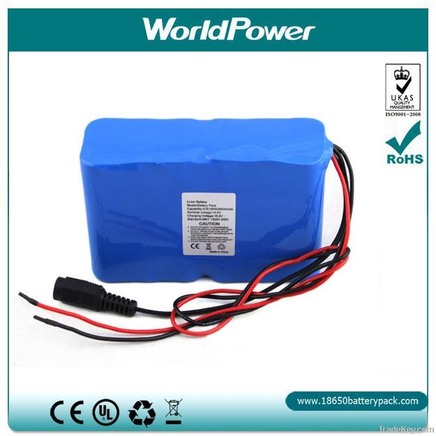 Deep cycle 12V 10ah rechargeable lithium battery pack