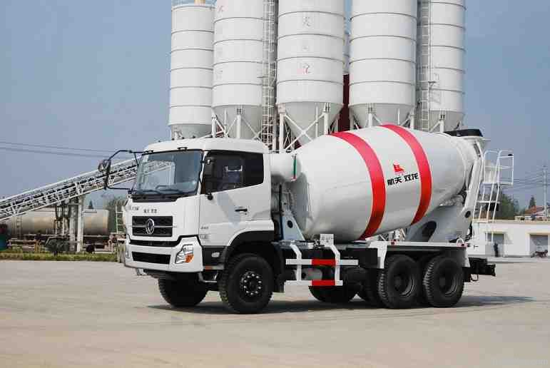 Concrete mixing transport truck 8-9CBM