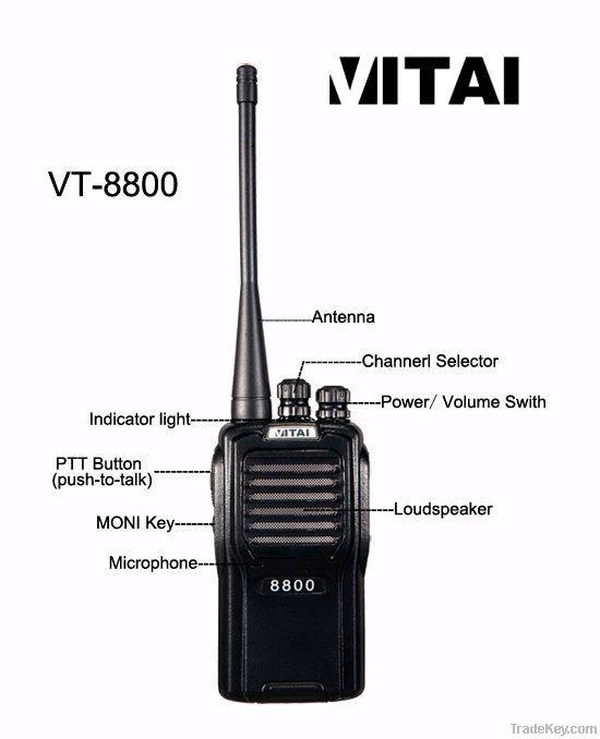 VITAI VT-8800 Professional Walkie Talkie