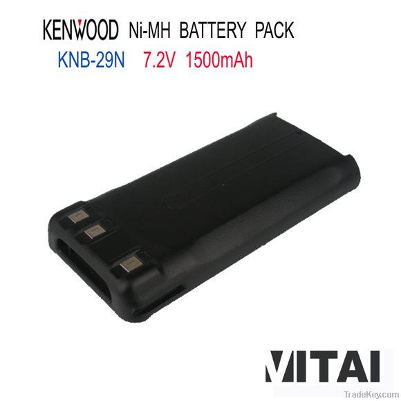Wholesale OEM KNB-29N 1500mAh Ni-Mh Kenwood Radios Battry Pack