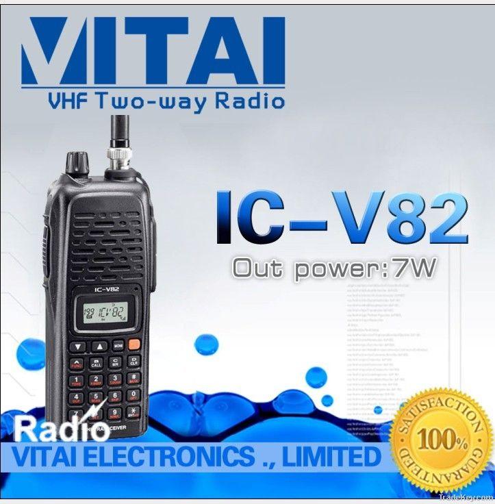 7w Power ICOM IC-V82 VHF 200 Channels FM Transceiver