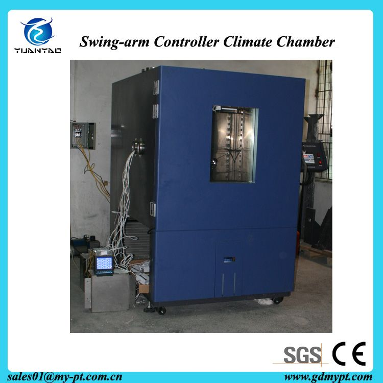 Stainless steel stand type Tecumseh compressor environmental protection refrigerant programmed constant temperature and humidity climate chamber