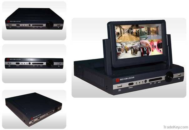 7 And 10.5 Inch Digital LCD DVR