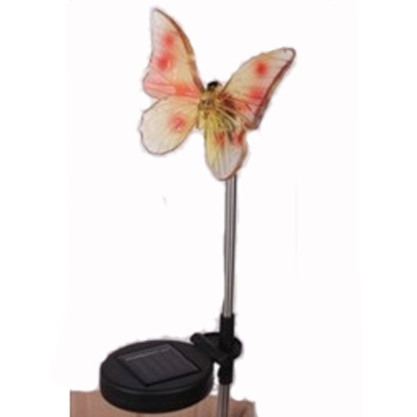 Stainless Steel Solar Butterfly Stake Light