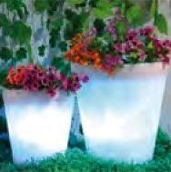 Solar Flower Pot Light