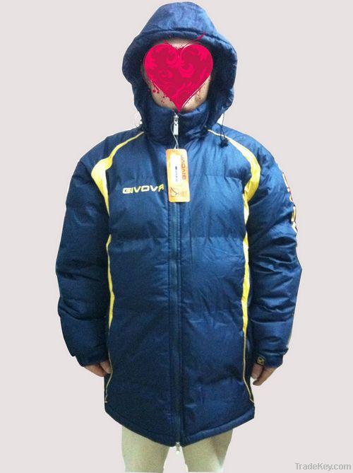 winter leisure men long jacket