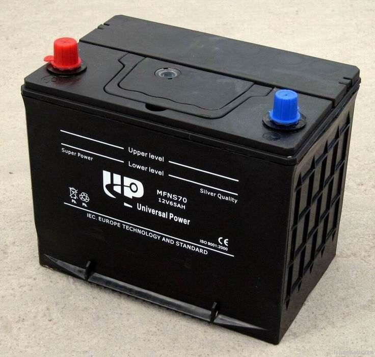 JIS Standard MF Car Battery