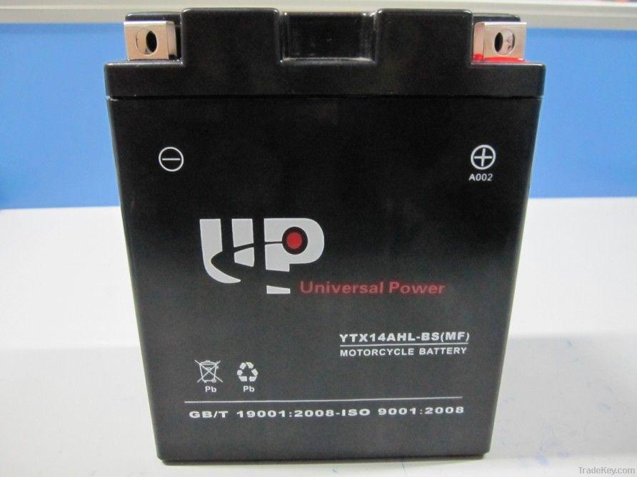 Sealed Maintenance Free Motorcycle Battery