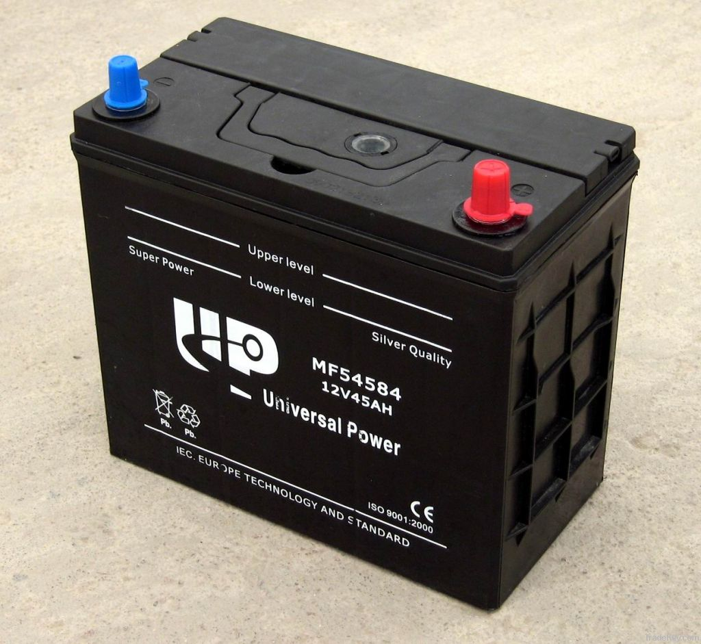 DIN Standard Maintenance Free Car Battery