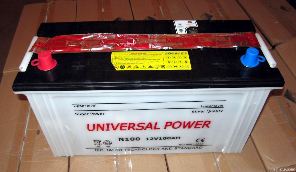 JIS Standard Dry Charged Car Battery