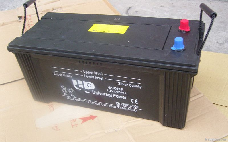 Miantenance Free car battery 12V140AH