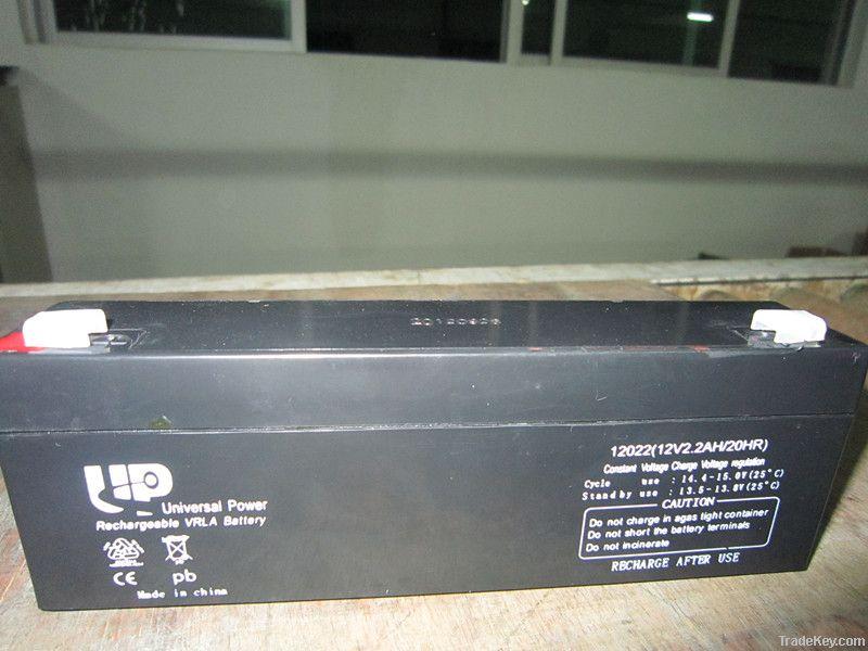 AGM lead acid battery 12V2.2AH