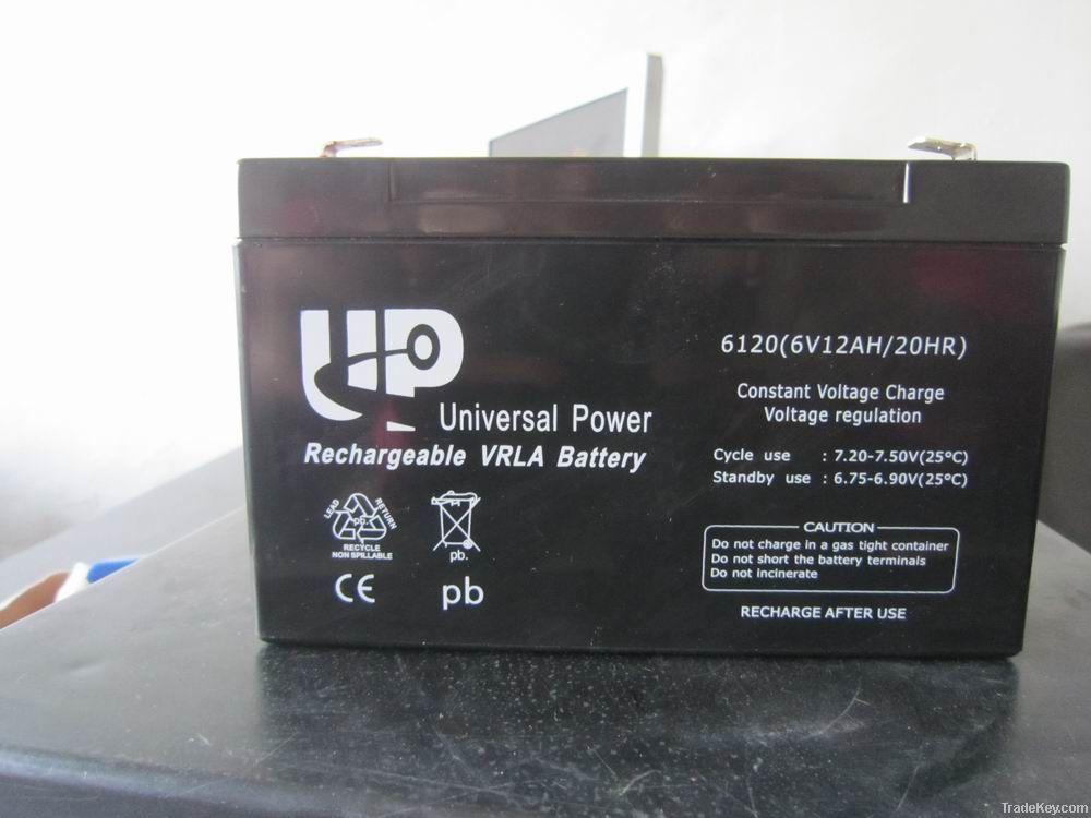 UPS/AGM/ lead acid battery 6V 12AH
