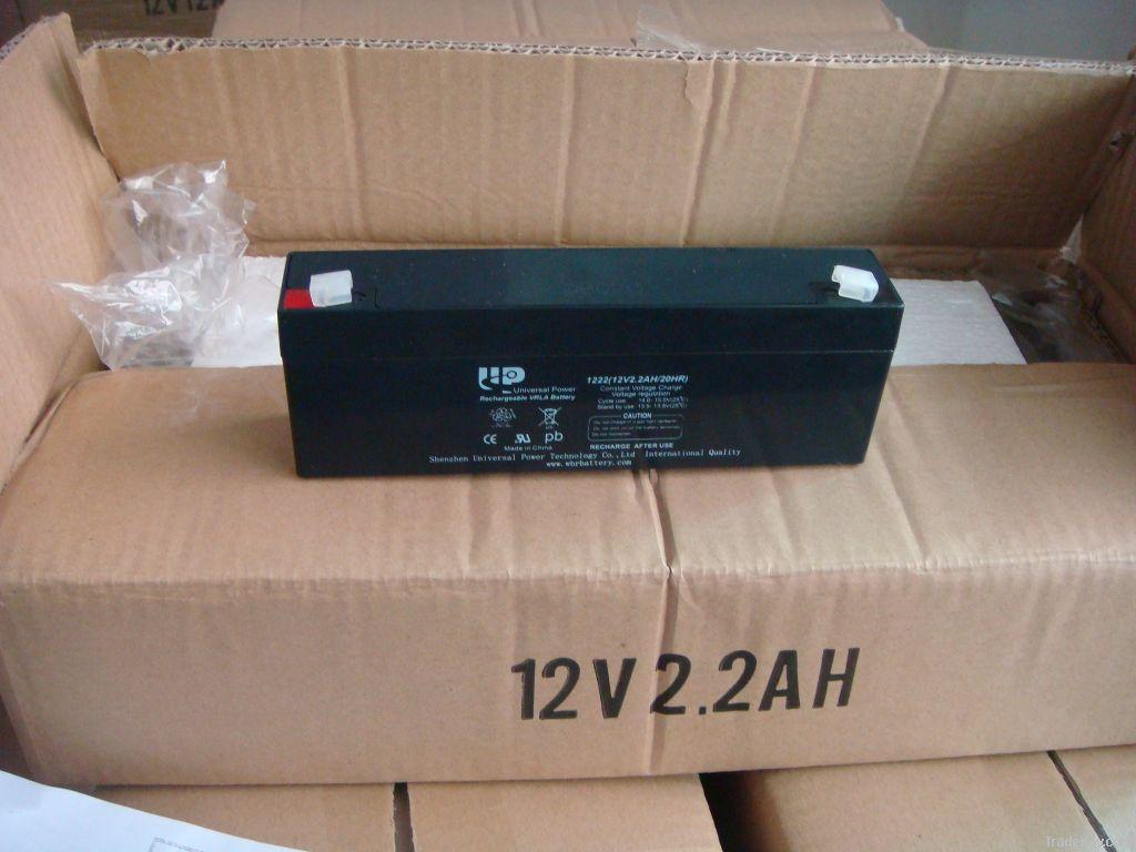 UPS/AGM/ lead acid battery 12V 2.2AH