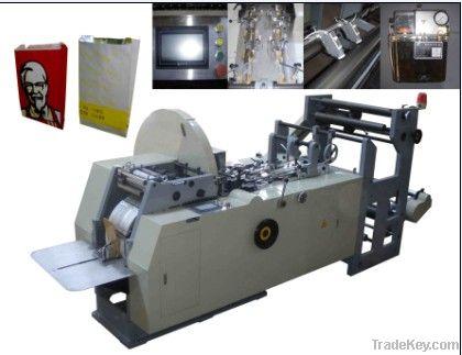 high speed paper bag making machine , food bag forming machine