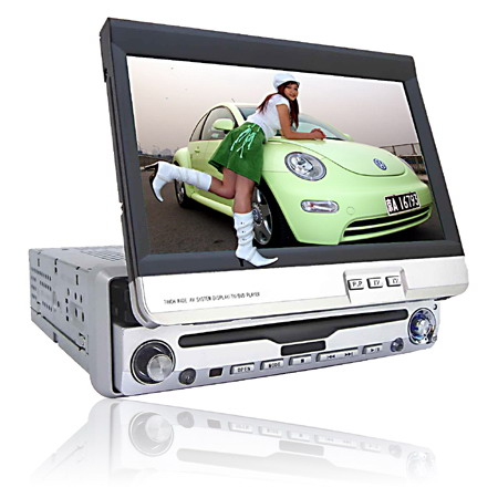7 Inches Fully-Motorized In-Dash Car TFT-LCD Monitor