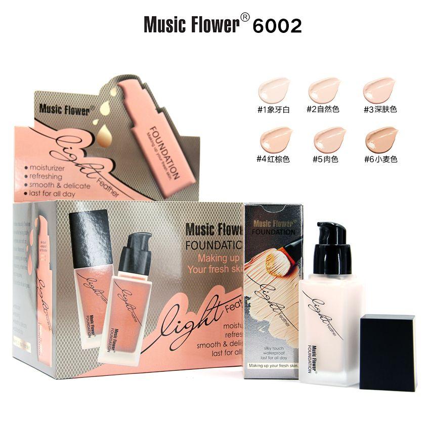 Music Flower Light liquid foundation #6002