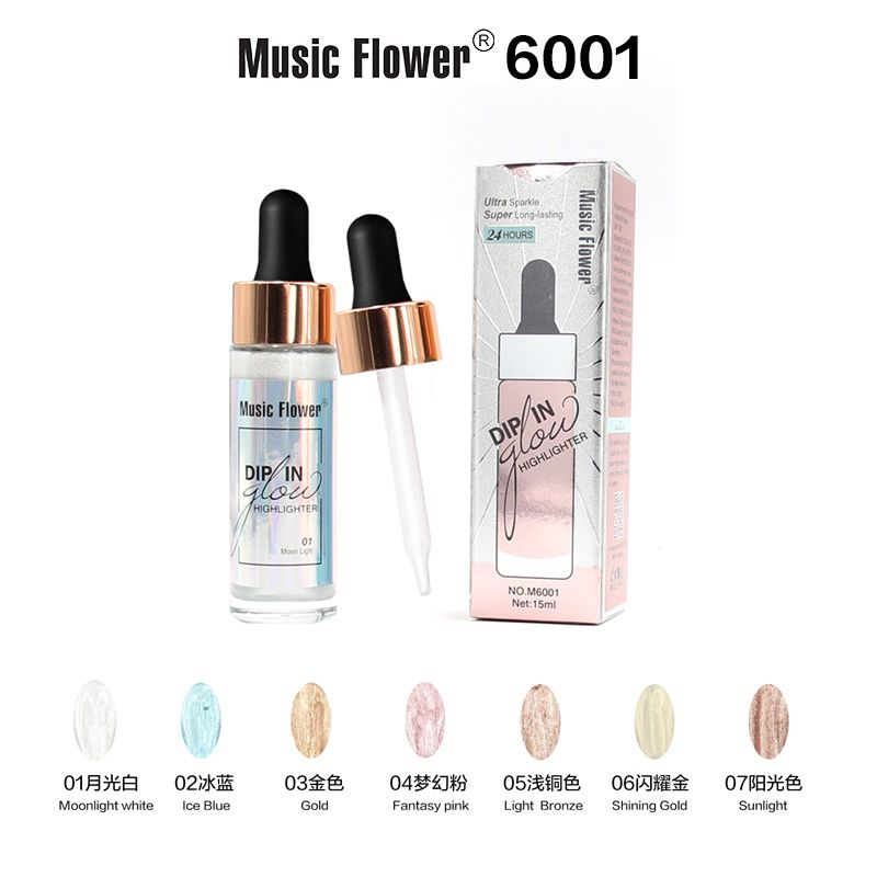 Music Flower DIP IN glow HIGHLIGHTER-M6001