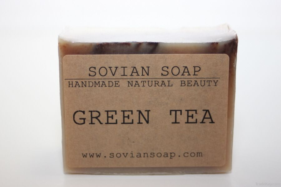 Organic Greentea Soap - Handmade, Natural, Unscented