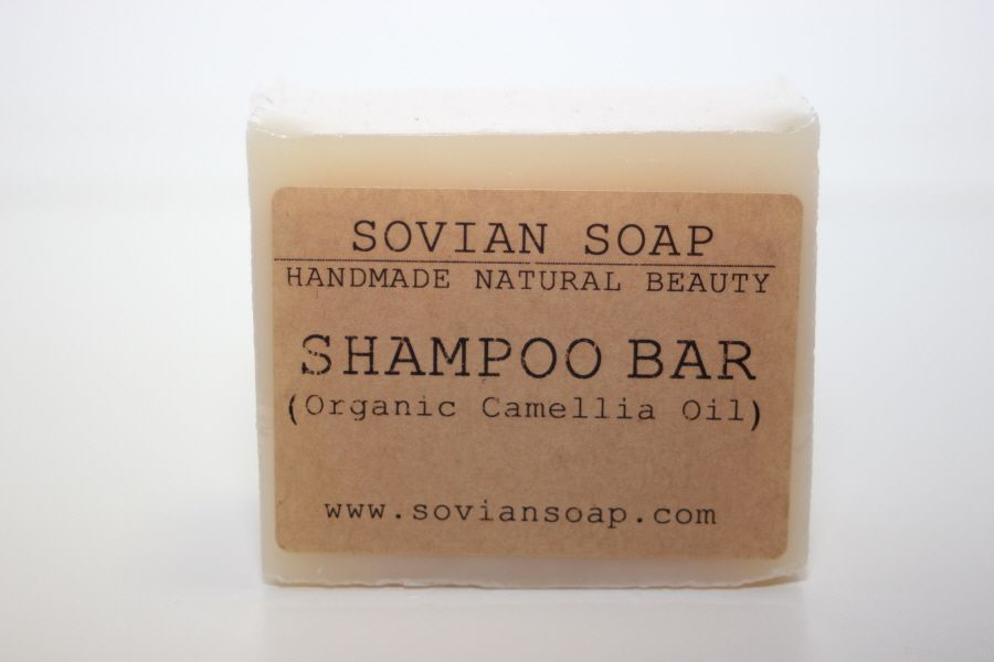 Organic Camellia Oil Shampoo bar - Handmade, Natural