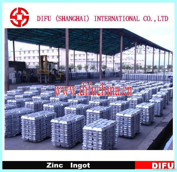 Hot sale high grade zinc ingots