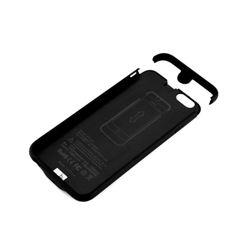 2018 Walkthree 2500mah backup Power case for iPhone 6, iPhone 7