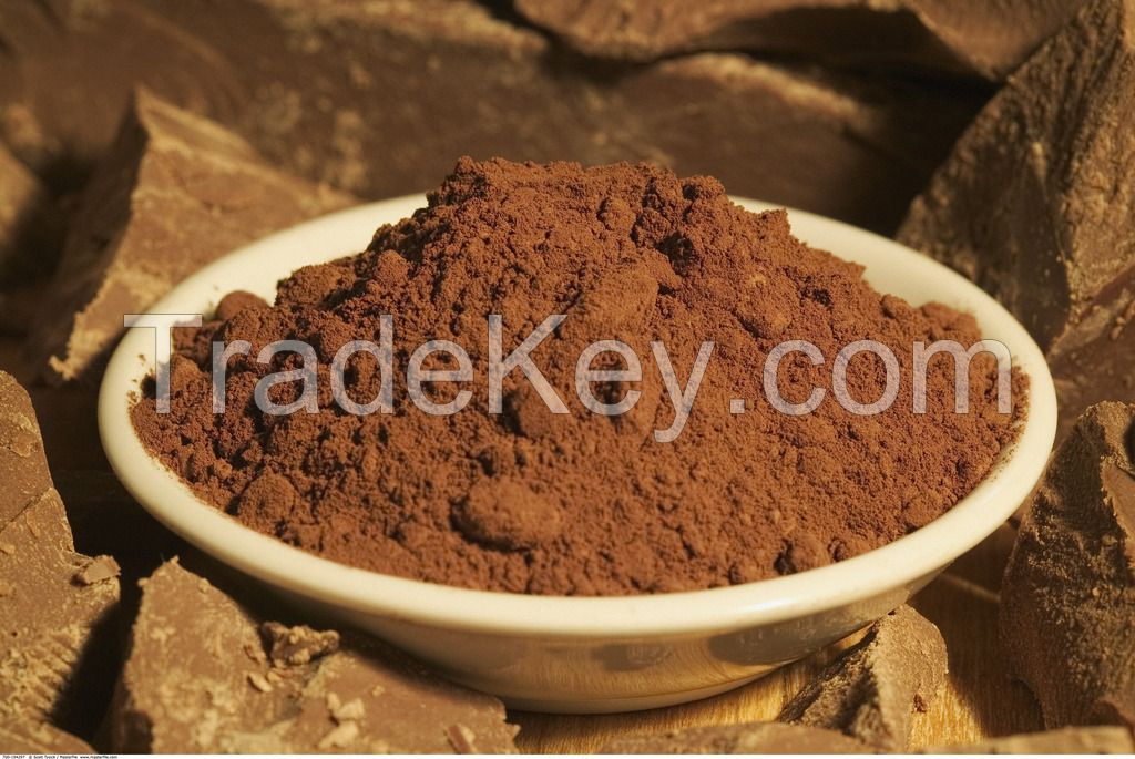 cocoa powder or mass for drinking, chocolate