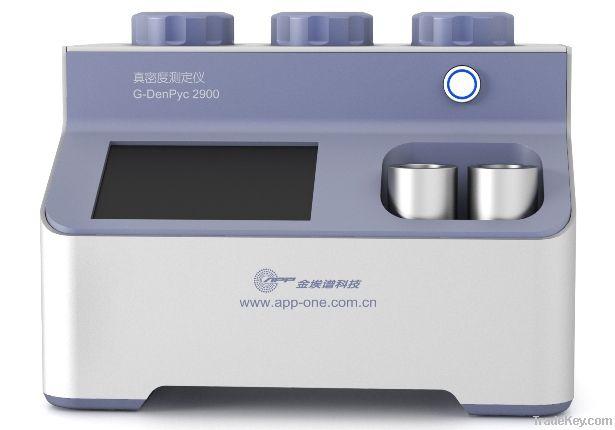 G-DenPyc 2900 true density helium pycnometer analyzer