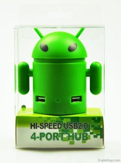 High Speed USB 2.0 4 Port USB Hub