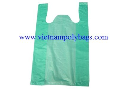 T-shirts shopping poly plastic bag