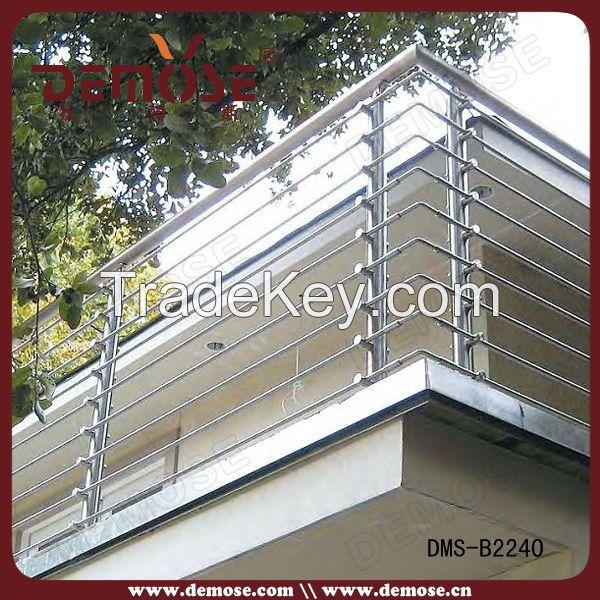 galvanized stainless steel balustrade/terrace balustrade