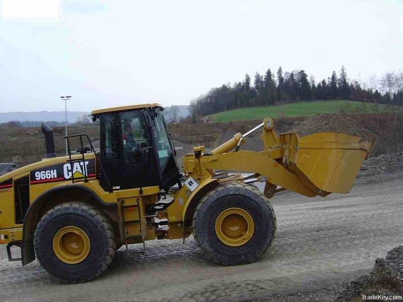 Good working conditon of the  used CAT 966H loader  is underselling