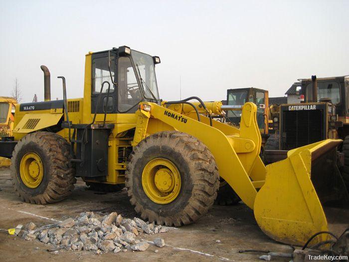 Used wheel loader of Komatsu WA470-3  for sell