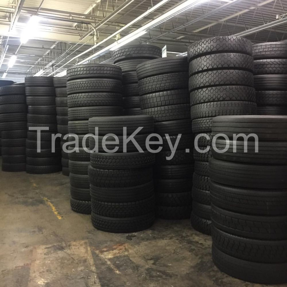 Grade A German used car and truck tires from 13''-24'' available now