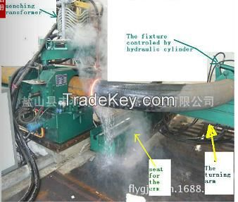 hydraulic steel pipe and tube bending machine