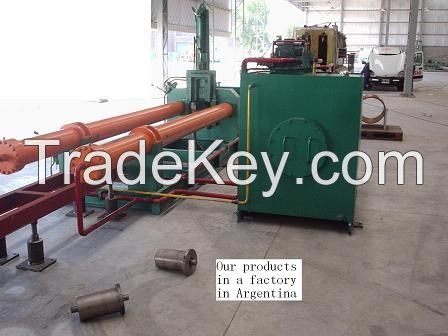 Carbon and alloy steel elbow making machine