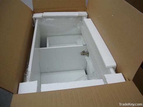 Resin white surface stone basin