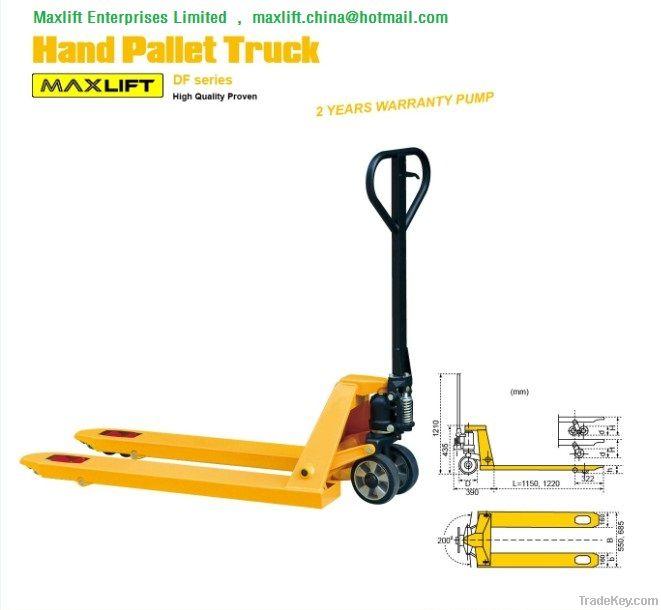 Hand Pallet Truck, Pallet Jack