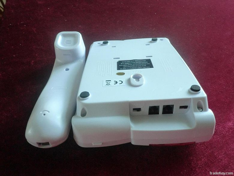 hot! white big button telephone with low cost, best gift for old people