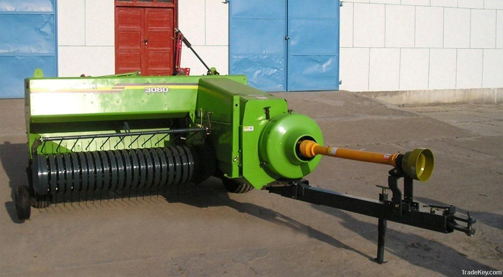 PTO driven farm square baler with CE approved
