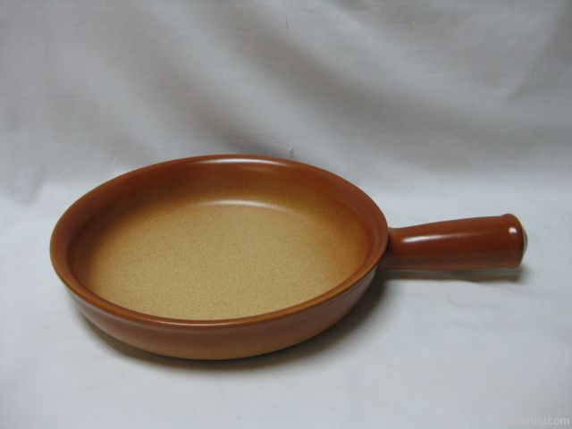 brown item-pan