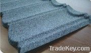 Colorful stone coated metal roof tile