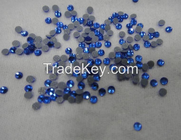 Korean hotfix rhinestone sapphire SS-16